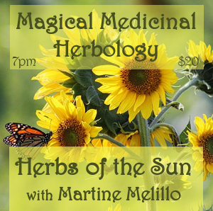 Magical Medicinal Herbology: Herbs of the Sun