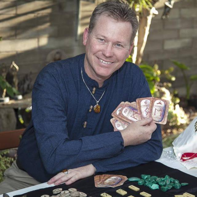 Tarot and Oracle Reader John Hyatt at Tree of Life Metaphysical Books and Gifts.