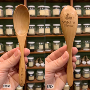 Witch's Brew Wooden Spoon 6.5